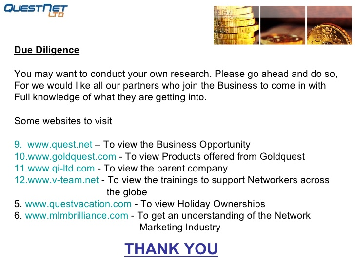 05-QuestNet an MLM company like no other